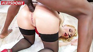 LETSDOEIT - Hot Colombian Natasha Teen Experience Rough Interracial