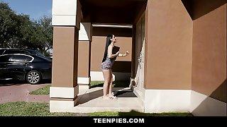 TeenPies - Hot Creampie For Hot Latin Teen Jessica Jewels