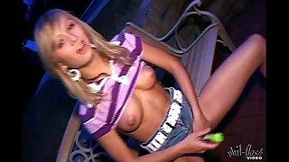 Teen Kasia - Pink & Purple Schoolgirl