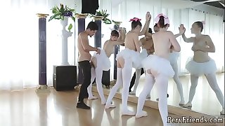 Car park blowjob xxx Ballerinas